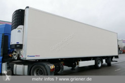 Krone SZ 18 / CITY KÜHLER / TRIDEC LENKUNG / LBW 2500 semi-trailer used refrigerated