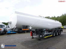 Tanker semi-trailer Jet fuel tank alu 36.5 m3 / 1 comp + pump