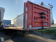 Fruehauf heavy equipment transport semi-trailer Plateau