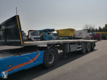Lecitrailer PLATA 3E-RS semi-trailer damaged flatbed