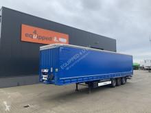 Semi remorque Krone D'hollandia ov-klep (2.000kg), nieuwe zeilen, APK/LPK: 11/2021, schijfremmen, NL-oplegger, 2x beschikbaar rideaux coulissants (plsc) occasion