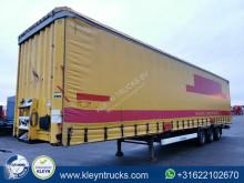 Krone MEGA BACK DOORS bpw disc brakes semi-trailer used tautliner