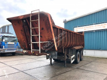 Trailer kipper Fruehauf FULL STEEL KIPPER (LAMES / SPRIN SUSPENSION / 8 TIRES)