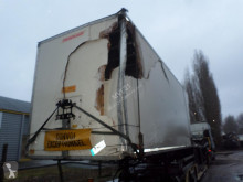 Semi remorque Fruehauf O40FHFSM2620279 fourgon accidentée