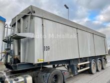 Samro tipper semi-trailer 50 m³ Kipper Voll Aluminium BPW Achsen