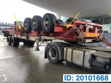 Fruehauf container semi-trailer Skelet 2 x 20-40 ft Gooseneck