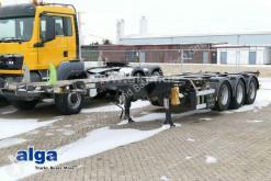 Semirremolque chasis D-TEC FT-4303V Flextrailer/2x20, 1x30, 1x40 & 1x45 Fuß
