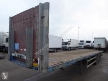 Groenewegen flatbed semi-trailer DRO-12-27,open,lichtgewicht,li