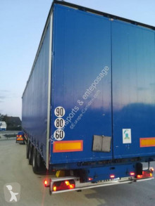Samro tautliner semi-trailer mega