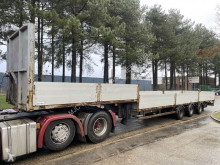 Semi remorque porte engins Kaiser SEMI-LOWLOADER - 12 TIRES - STEEL SPRING SUPENSION / SUSPENSION LAMES /