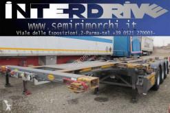 Semi remorque porte containers Piacenza semirimorchio portacontainer allungabile