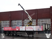 Semi Pacton With Kennis 11.000 crane - 130 CM - Steering axle - Lift axle