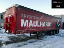 Schmitz Cargobull tarp semi-trailer SCS /Lenkachse /Staplerhalterung/Sicherheitpl