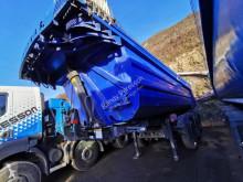 TecnoKar Trailers 3 essieux fer semi-trailer used construction dump