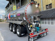 Schwarte powder tanker semi-trailer