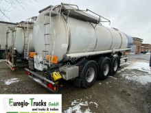 Schrader chemical tanker semi-trailer 3-achs Chemie / Schwefel/ 17 cbm / L4BH