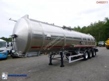 Semi remorque citerne Magyar Fuel tank inox 37.5 m3 / 1 comp