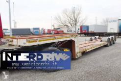 Semirimorchio trasporto macchinari Bertoja carrellone allungabile vasca culla usato