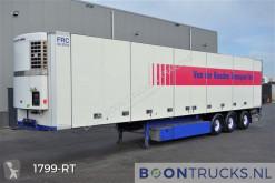 Mono temperature refrigerated semi-trailer SF24 + THERMOKING | SIDE DOORS * MULTITEMP * STEERING AXLE * APK 01-2022
