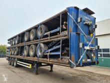 Semirimorchio Van Hool Platform met Twistlocks 40ft / 2x20ft portacontainers usato