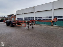 Semirimorchio portacontainers Fruehauf Container chassis 40ft.