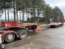 Faymonville heavy equipment transport semi-trailer STZ-4AU - 81T LOWLOADER - 5m EXTENDABLE - 4 AXLES + RAMPS - SAF - 4 STEERING AXLES / TIEFLADER - 4 ACHSEN SAF - 4x LENKACHSEN -