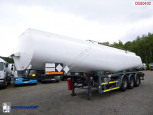 Tanker semi-trailer Jet fuel tank alu 36.5 m3 / 1 comp + pump