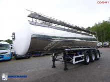 Magyar food tanker semi-trailer Food tank inox 30 m3 / 1 comp + pump