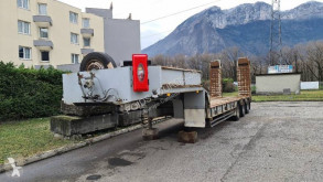 Kaiser Porte-engins 3 essieux semi-trailer used heavy equipment transport