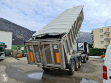 Kaiser Benne Alu 3E propre semi-trailer used construction dump