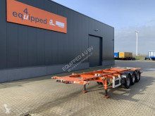 Полуприцеп LAG ADR (EXII, EXIII, FL, AT), 20FT/30FT, BPW, LIFTAXLE, NL-CHASSIS б/у