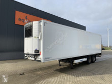 Krone reefer, Carrier Vector 1550 D/E, taillift 2.000kg, NL-trailer, APK: 10/2021 semi-trailer used mono temperature refrigerated
