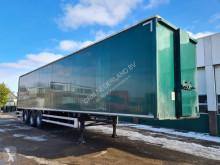 Naczepa Cuppers Gesloten opbouw / Schuifdak / Dubbele laadvloer / Laadklep 2000KG / ON-36-PD furgon używana
