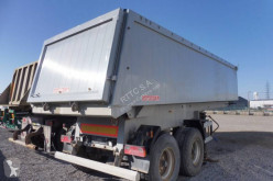 Langendorf SK 20 A semi-trailer used construction dump