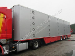 Cuppers LVO 12-27 AL 5 Levels Livestock trailer semi-trailer used cattle