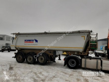 Semi remorque benne Schmitz Cargobull Semitrailer Tipper Steel half pipe body 28m³