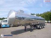 Semiremorca BSLT Chemical tank inox 34 m3 / 4 comp cisternă produse chimice second-hand