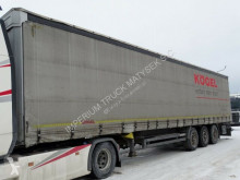 Semirimorchio centinato alla francese Kögel CURTAINSIDER/STANDARD / LIFTED AXLE /CODE XL