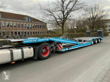 Heavy equipment transport semi-trailer FVG TA 36-LKW Autotransporter voll Verzinkt/lenk