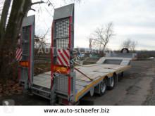 Heavy equipment transport semi-trailer 2 Achser Tieflader