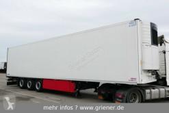 Schmitz Cargobull refrigerated semi-trailer SKO 24/ DOPPELSTOCK / BLUMEN CARR VEC 1550 LIFT