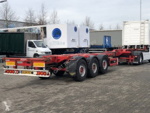 Semi remorque porte containers Broshuis 3 UCC-39/45 EU MULTI CONTAINER CHASSIS / SAF-DISC