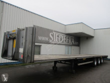 LAG flatbed semi-trailer O-3-GT 50 , 3 BPW axles , Drum brakes , Air suspension