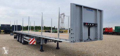 Lecitrailer flatbed semi-trailer Plateau renforcé & porte containers