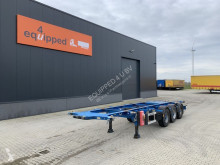Semi remorque porte containers Burg 20FT/30FT, BPW, ADR (EXII, EXIII, FL, OX, AT), NL-CHASSIS