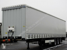 Krone tarp semi-trailer CURTAINSIDER /STANDARD/ LIFTED AXLE/2019/PERFECT