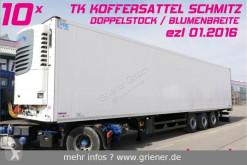 Semirimorchio frigo Schmitz Cargobull SKO 24/ DOPPELSTOCK / BLUMEN /TK ONE / DRP 10 x