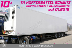 Semi remorque Schmitz Cargobull SKO 24/ DOPPELSTOCK / BLUMEN /TK ONE / DRP 10 x frigo occasion