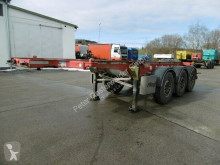 Trailer chassis Fliegl 3 Achs Container Chassis 20''Fuss Alufelgen