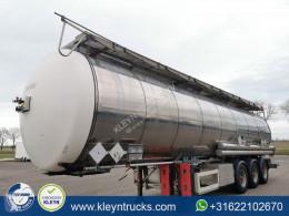 Feldbinder tanker semi-trailer TSA 46.3-3 CHEMIE 3 compartimenten 125